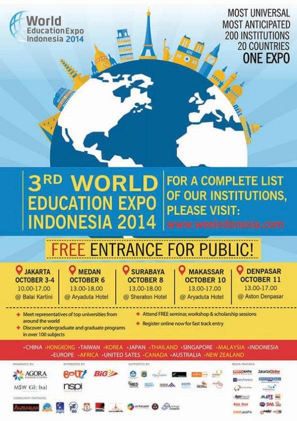 The 3rd World Education Expo 2014