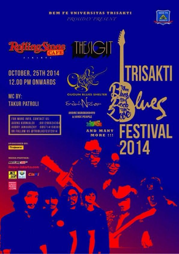 TRISAKTI BLUES FESTIVAL 2014