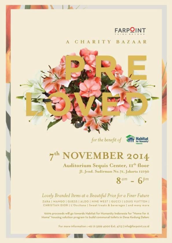 Farpoint Preloved Charity Bazaar - 7 Nov 2014