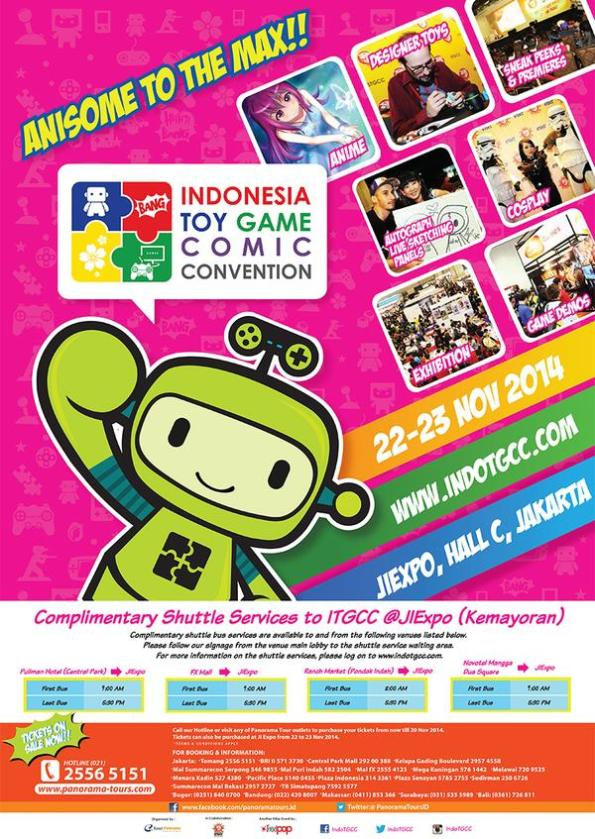 Indonesia Toy, Game & Comic Convention (ITGCC) 2014
