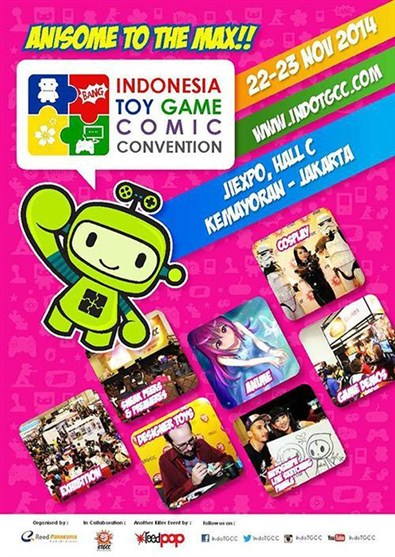Indonesia Toy Game Comic Convention