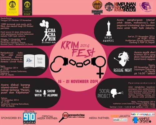 Kriminologi Festival 2014