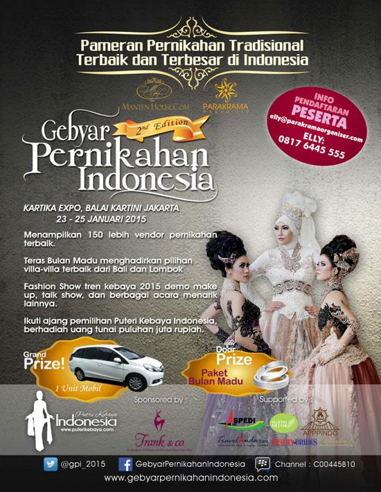 Gebyar Pernikahan Indonesia 2015