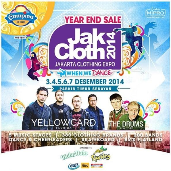 JakCloth Year End Sale 3-7 Desember 2014 Parkir Timur Senayan