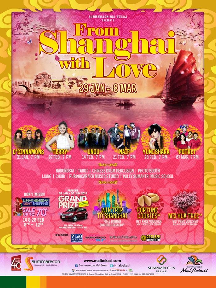From Shanghai With Love Mal summarecon Bekasi