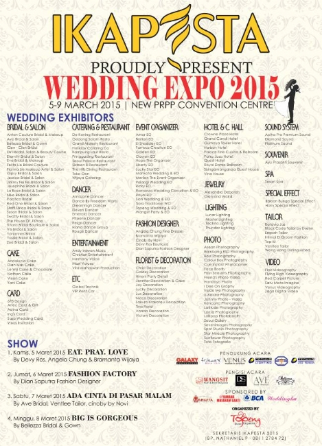 IKAPESTA Wedding Expo 2015