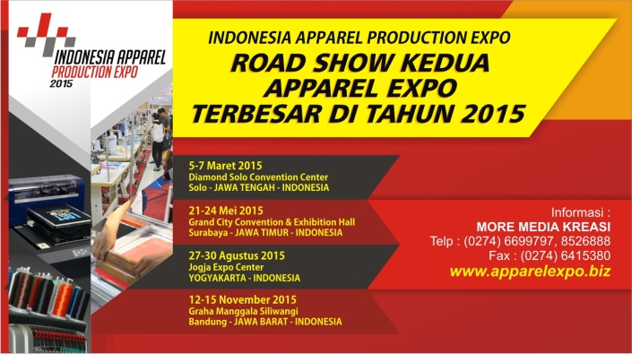 Indonesia Apparel Production Expo 2015 – Solo