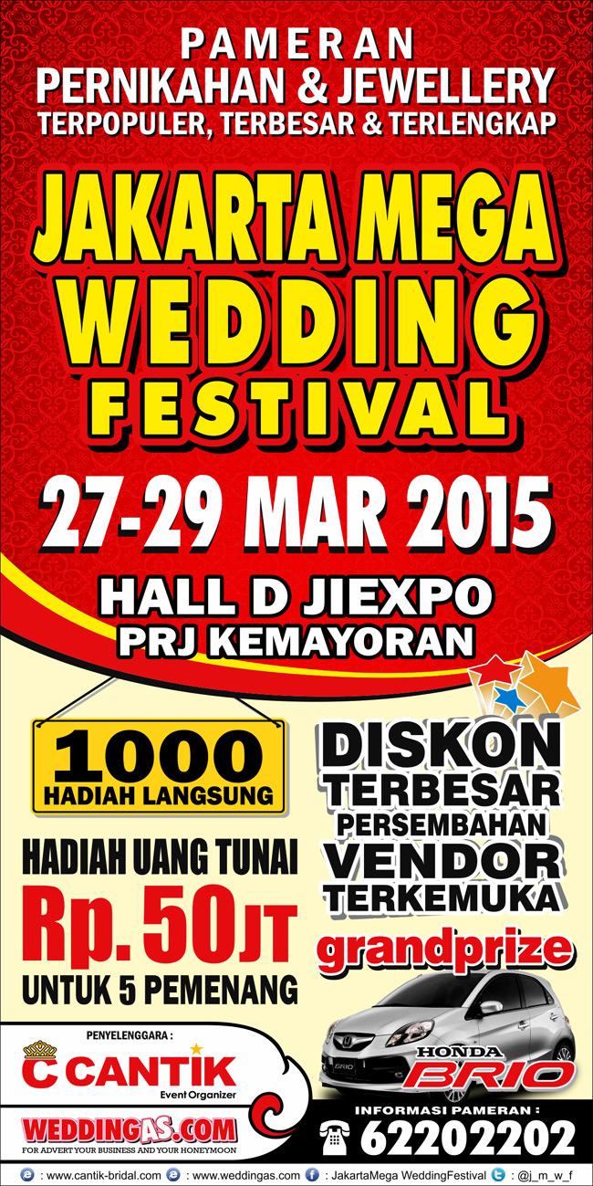 Jakarta Mega Wedding Festival 27 - 29 Maret 2015
