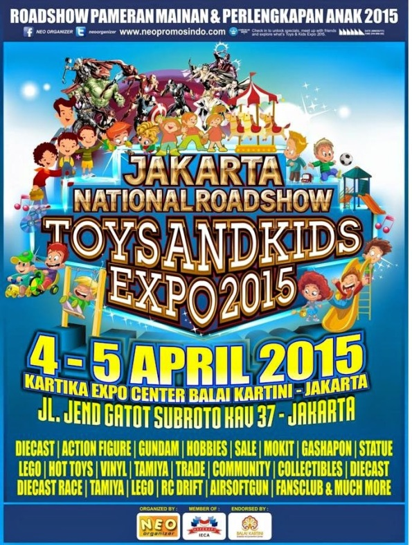 Jakarta Toys and Kids Expo 2015