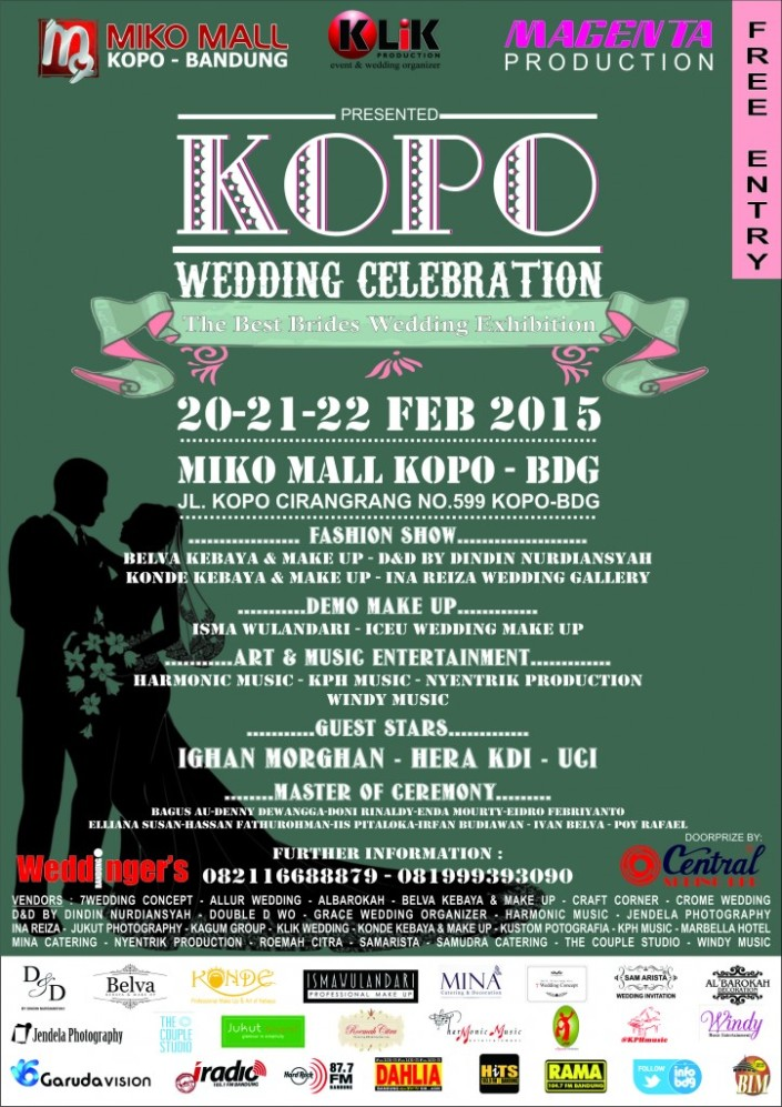 Kopo Wedding Celebration – Bandung 2015