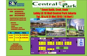 layout central park