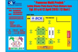 layout - mall plaza bintaro april 2015