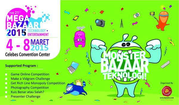 Mega Bazaar Consumer Show 2015 – Makassar