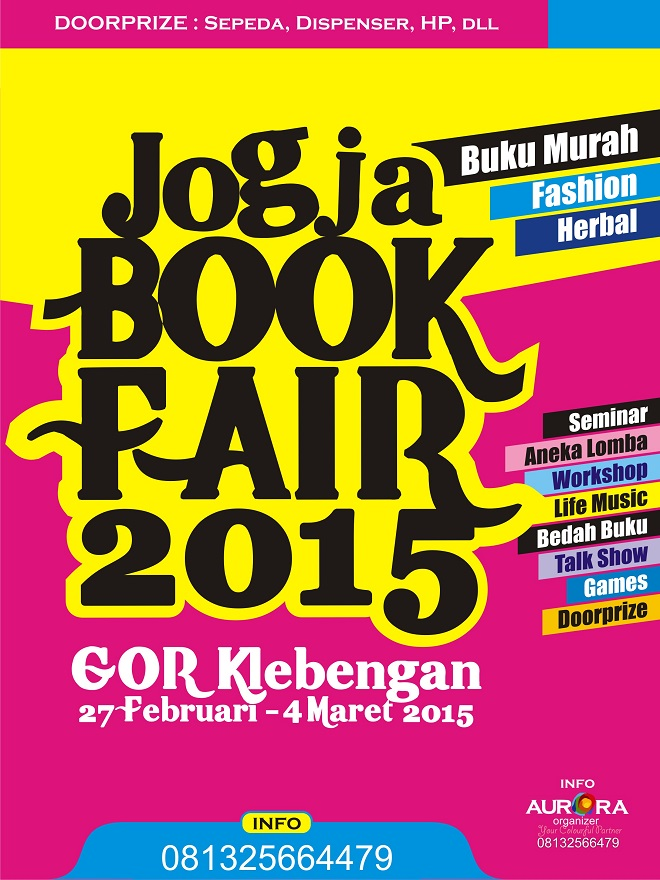 Pameran Jogja Book Fair 2015