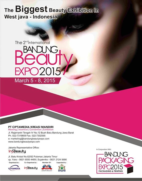 The 2nd International Bandung Beauty Expo 2015