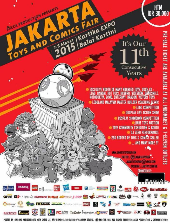 The Jakarta Toys & Comic Fair 2015