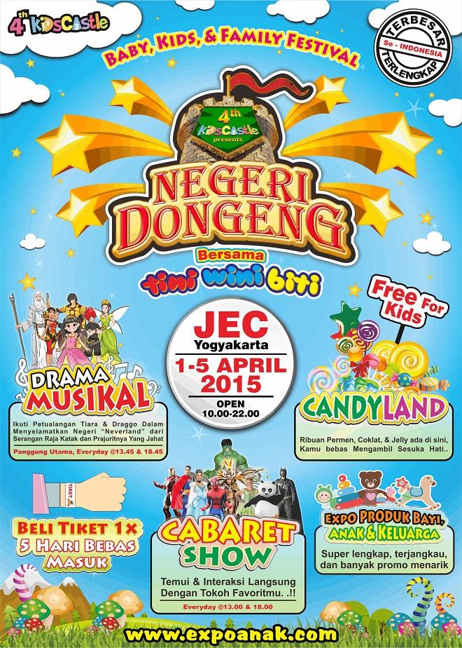 4th Kidscastle Negeri Dongeng – Yogyakarta