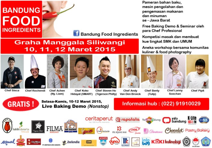 Bandung Food Ingredients 2015