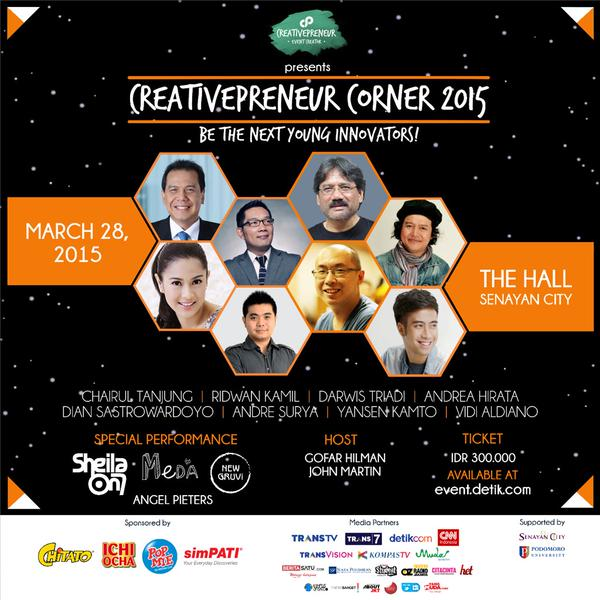 creativepreneur corner 2015