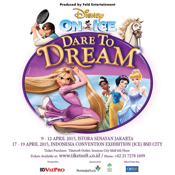 Disney On Ice Dare to Dream 2015 Jakarta