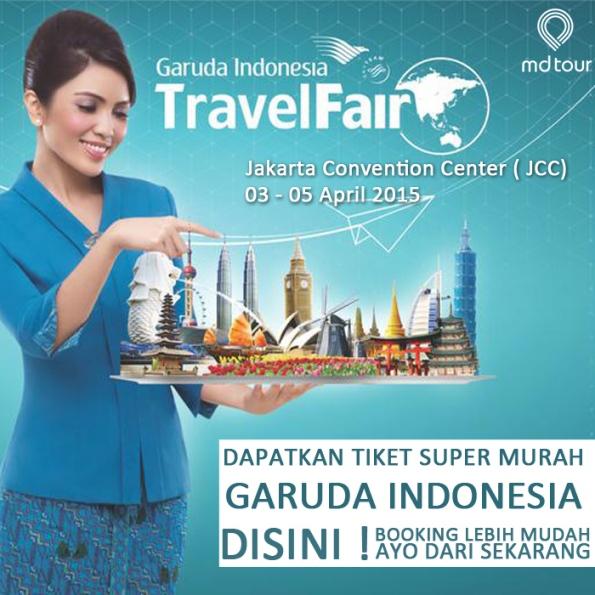 Garuda Indonesia travel fair 2015