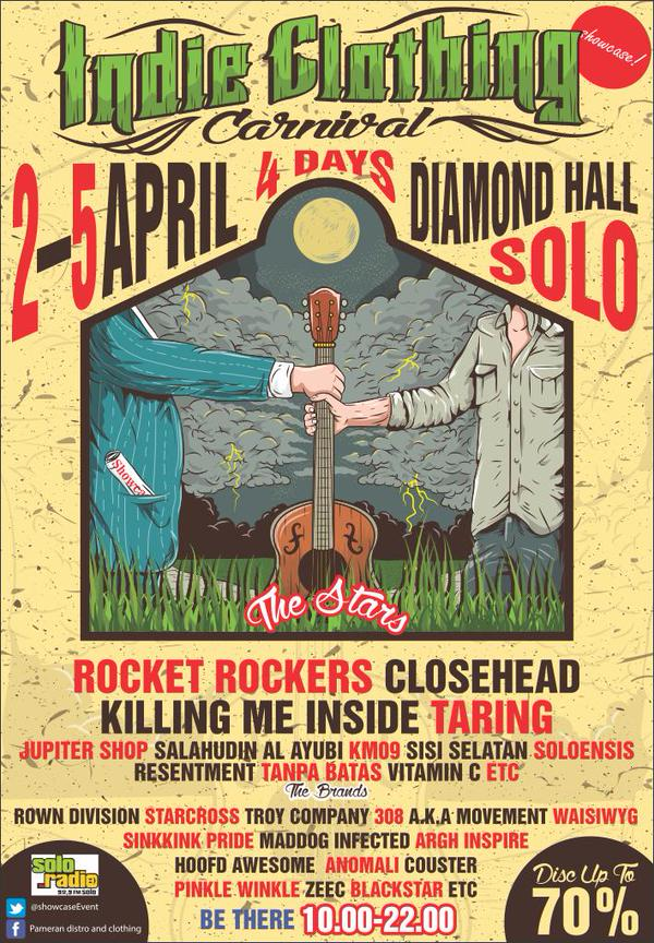 Indie Clothing Carnival Solo – April 2015