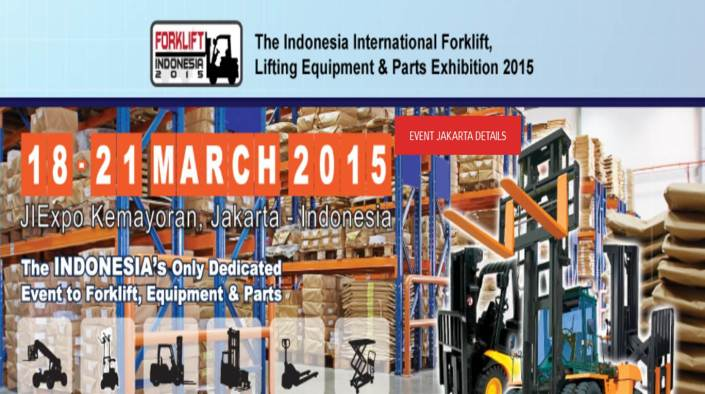 Indonesia Forklift, Lifting Equipment and Parts 2015