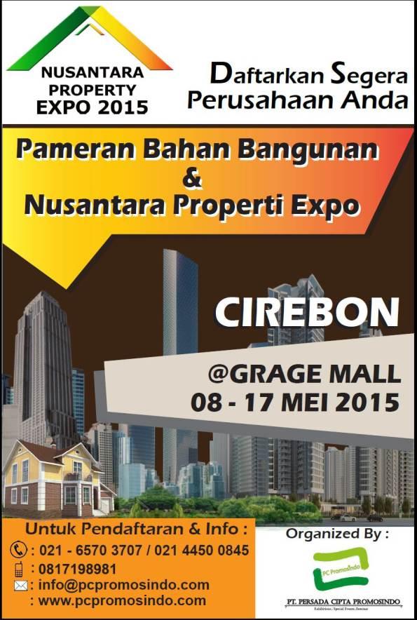 Pameran Bahan Bangunan & Nusantara Properti Expo Cirebon 2015