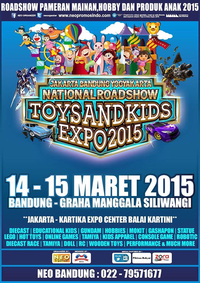 Pameran Bandung Toys & Kids Expo 2015