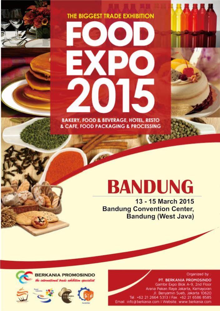 Pameran Food Bandung Expo 2015