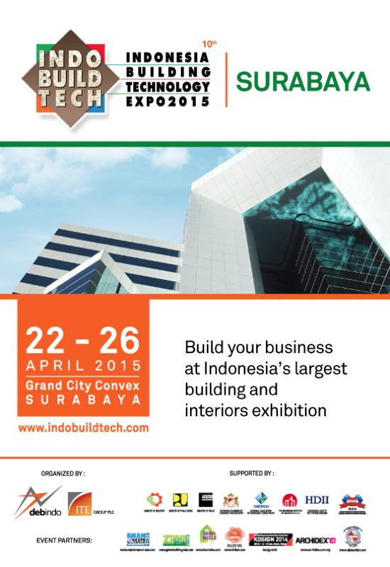 Pameran Indobuildtech Expo Surabaya 2015