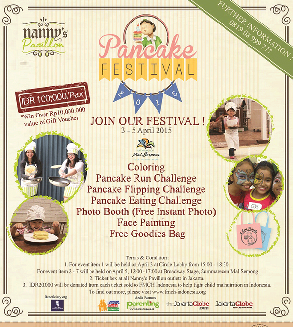 Pancake Festival 2015