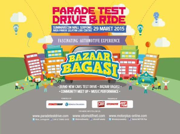 Parade Test Drive & Bazaar Bagasi 2015
