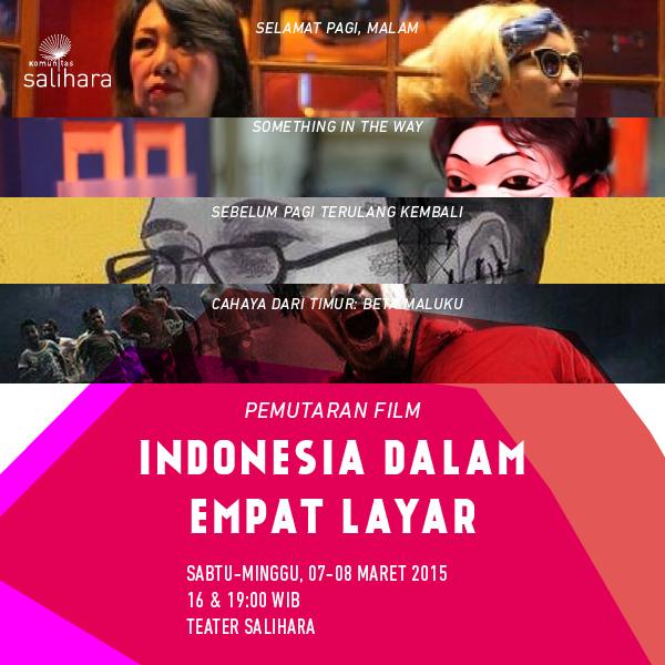 Pemutaran Film  Indonesia dalam Empat Layar