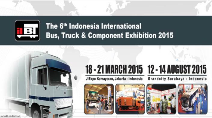 The 6th Indonesia International Bus, Truck & Component Exhibition 2015