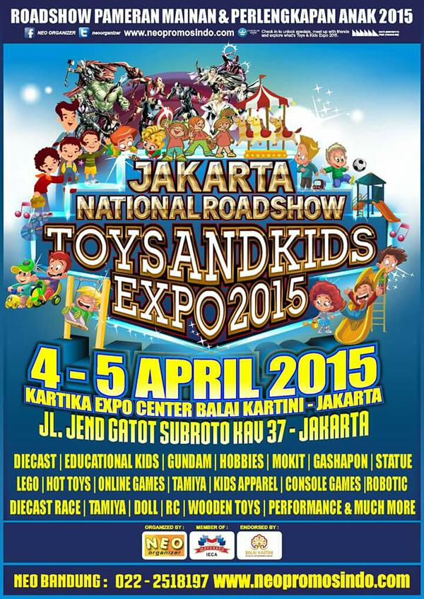 Toys and Kids Expo 2015 – Jakarta
