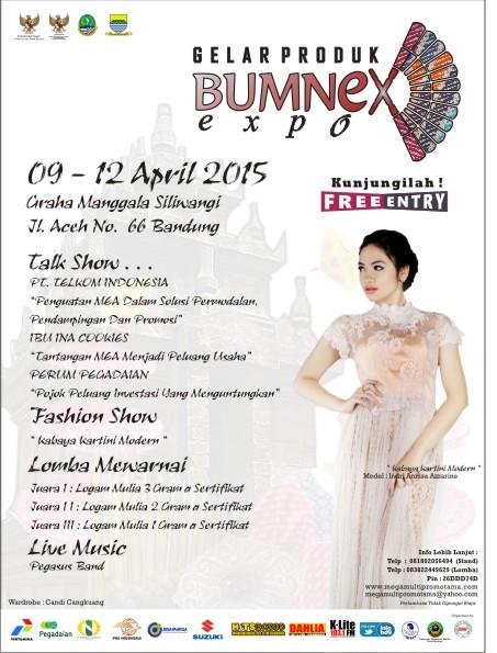 Gelar Produk BUMNEX EXPO – Bandung 2015