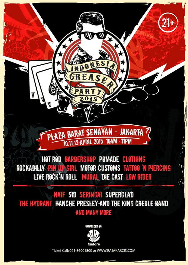 INDONESIA GREASER PARTY 2015