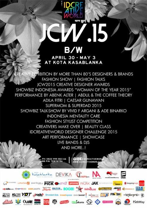 "Jakarta Creative Weeks 2015 ""Black and White"""