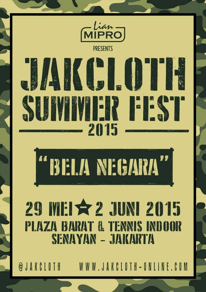 JAKCLOTH SUMMER FEST 2015