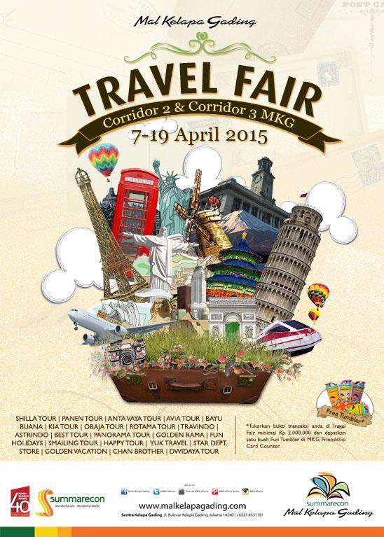 Mal Kelapa Gading Travel Fair 2015