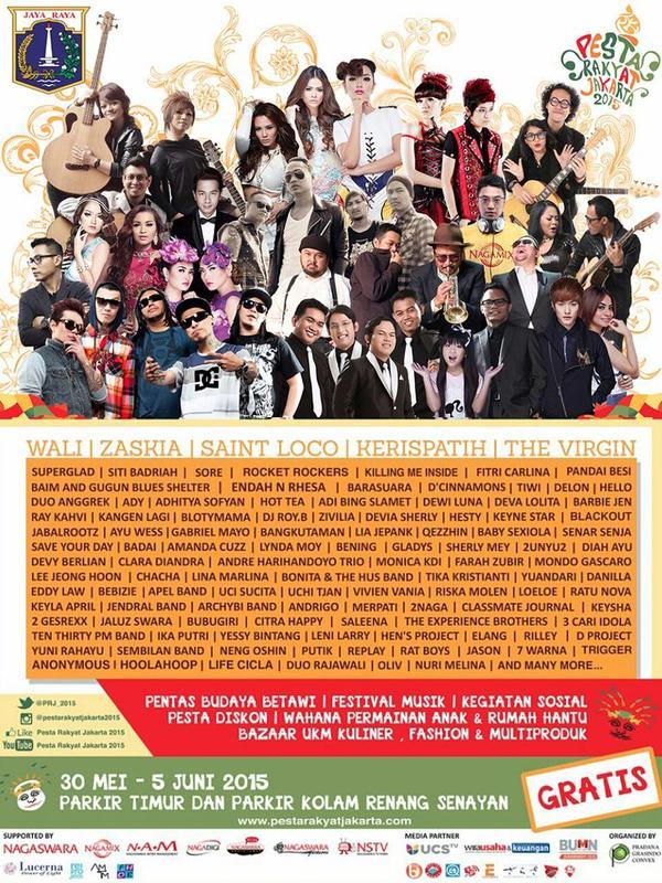 Pesta Rakyat Jakarta (PRJ) 2015