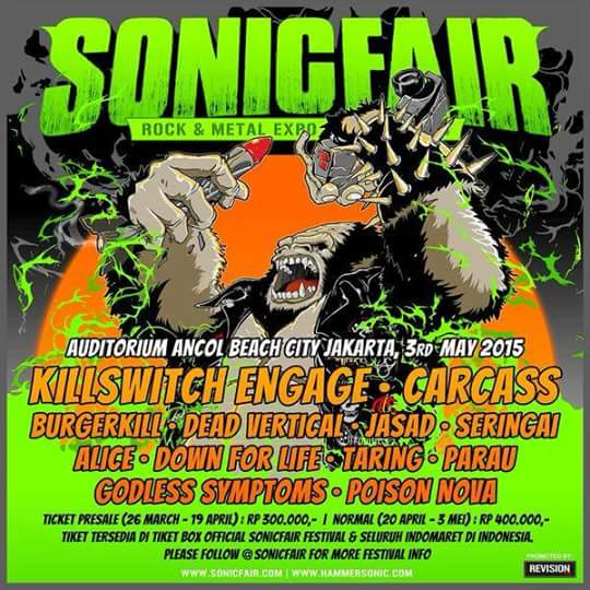 sonic fair 2015 (Rock and Metal Expo Festival 2015)
