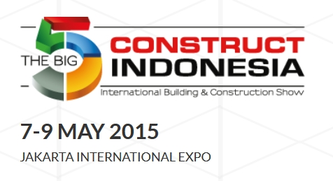 The Big 5 Construct Indonesia expo 2015