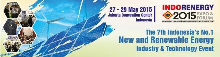 7th Indo Renergy 2015 Expo & Forum