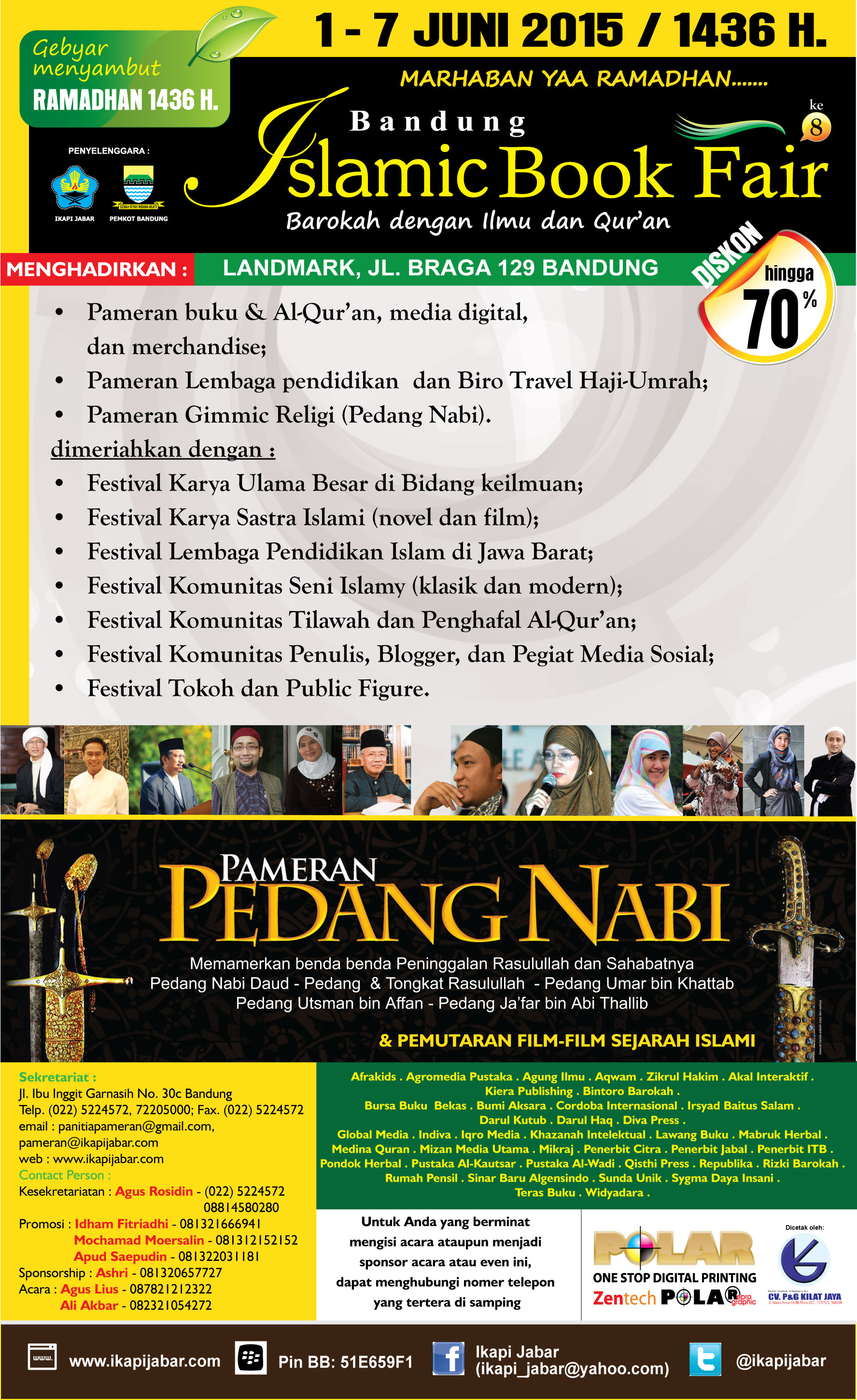 Bandung Islamic Book Fair 2015 171 Informasi Pameran Event