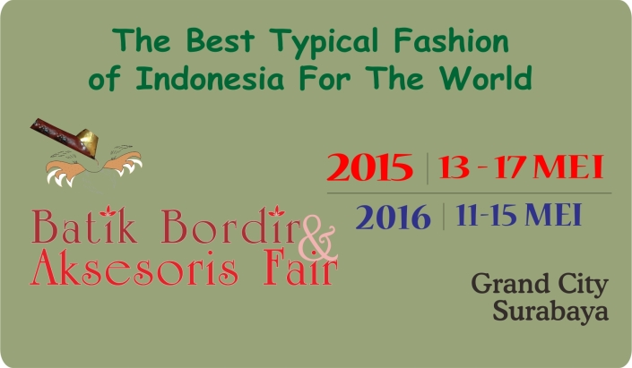 Batik Bordir & Aksesoris Fair 2015