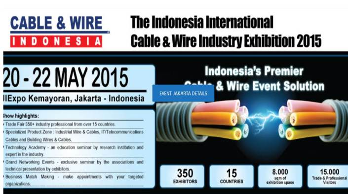 CABLE & WIRE INDONESIA 2015