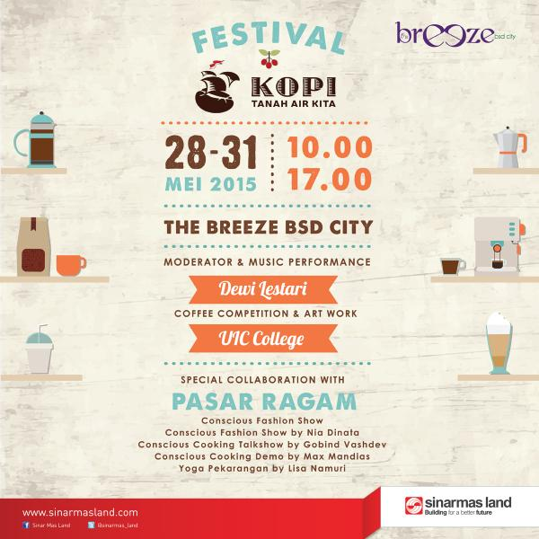 Festival Kopi Tanah Air Kita at The Breeze BSD City 2015