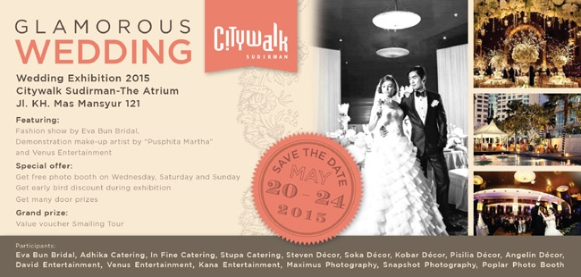 Glamorous Wedding by City Walk